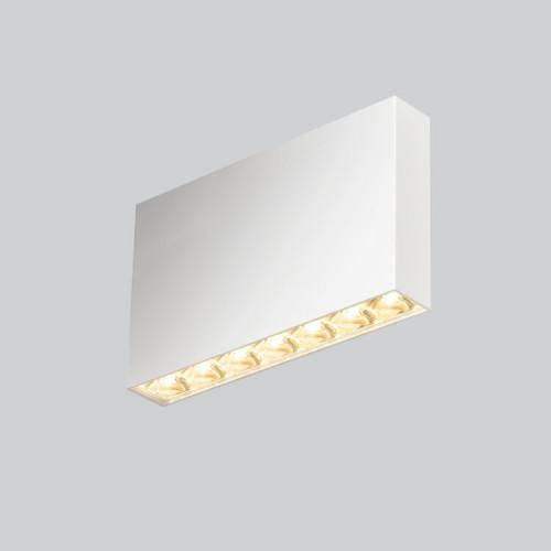 Mawa Flat Box Aufbaustrahler LED fbl-23 weiß
