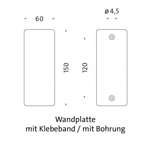 Mawa Maggy Ersatz-Wandhalterung Grafik