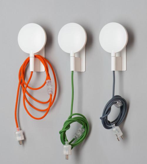 Mawa Maggy weiß, Kabel orange, grün und grau