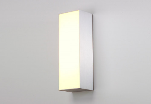 Mawa Messing LED Außenleuchte weiß