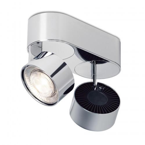 Mawa Wittenberg 4.0 Deckenleuchte oval 2-flammig LED Chrom