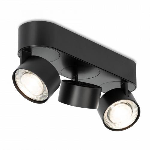 Mawa Wittenberg 4.0 Deckenleuchte oval 3-flammig LED schwarz