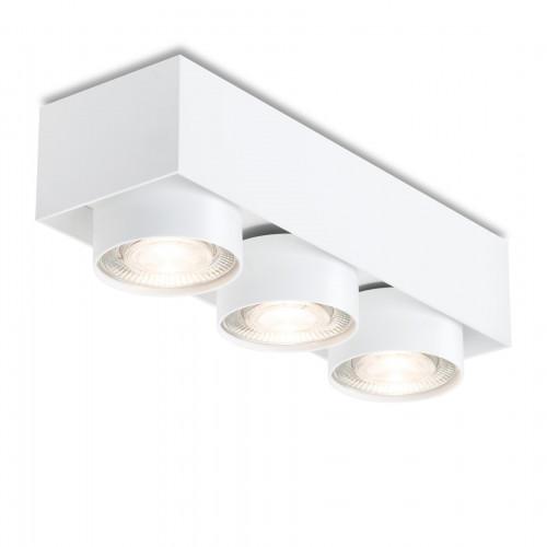 Mawa Wittenberg 4.0 Deckenleuchte halbbündig 3-flammig LED weiß