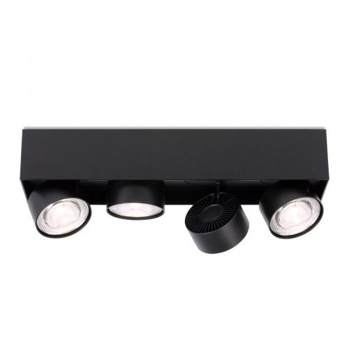 Mawa Wittenberg 4.0 Deckenleuchte halbbündig 4-flammig LED schwarz