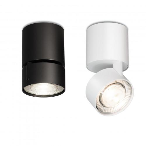 Mawa Wittenberg 4.0 Fernrohr Deckenleuchte LED schwarz und weiß