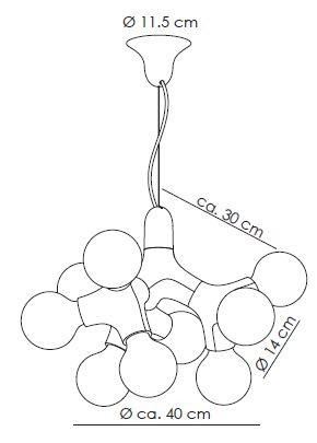 Next DNA Kronleuchter graphic