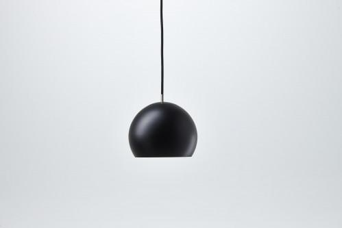 Nyta Tilt Globe schwarz, Kabel schwarz