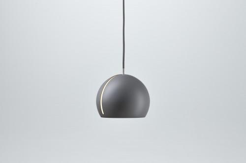 Nyta Tilt Globe grau, Kabel grau