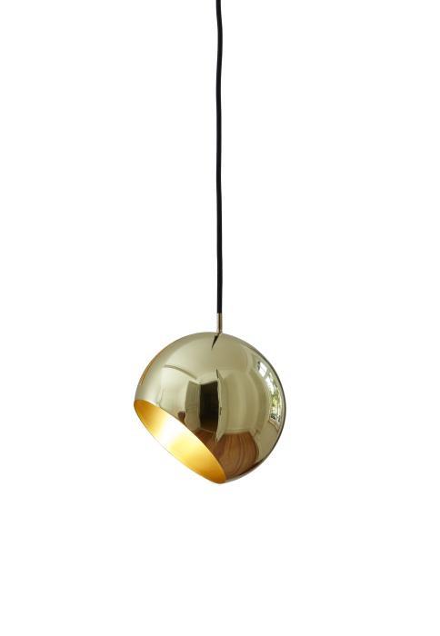 Nyta Tilt Globe Brass