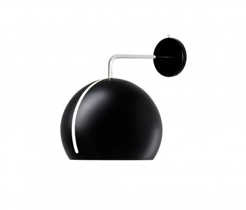 Nyta Tilt Globe Wall ohne Kabel schwarz