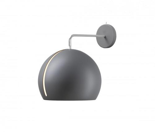 Nyta Tilt Globe Wall ohne Kabel grau
