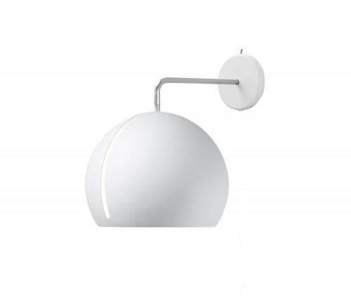 Nyta Tilt Globe Wall ohne Kabel weiß