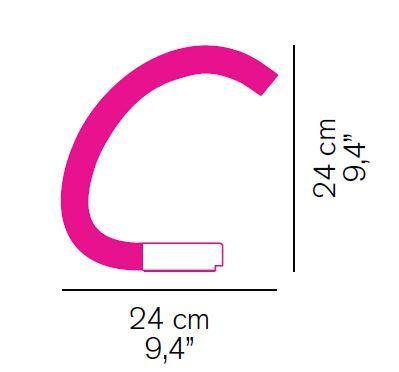 Oluce Acrilica 281 Grafik