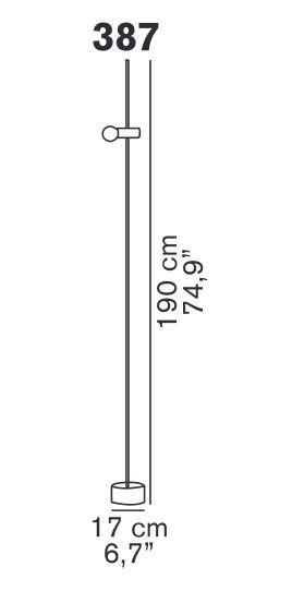 Oluce Agnoli 387 Grafik