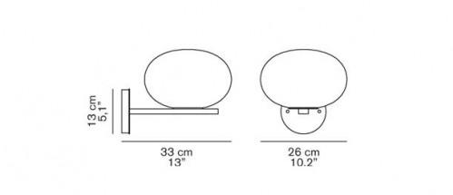 Oluce Alba 176 Grafik