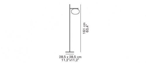 Oluce Alba 382 Grafik