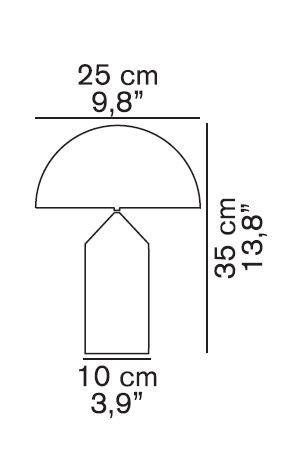 Oluce Atollo 238 Grafik