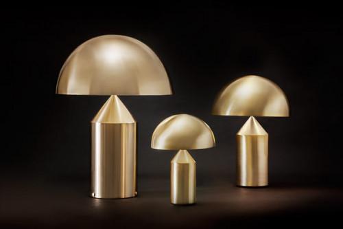 Oluce Atollo 238 Oro Gold