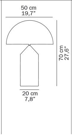 Oluce Atollo 233 Grafik