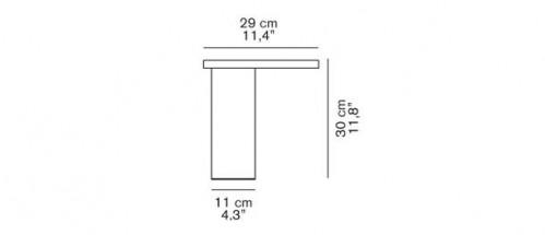 Oluce Cylinda 218 OR Grafik