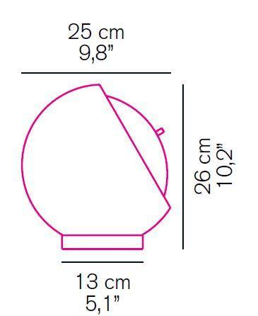 Oluce Eva 216 Grafik
