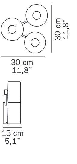 Oluce Fiore 103 Grafik