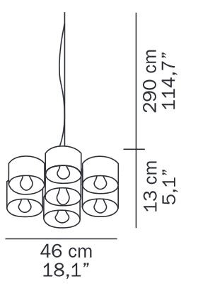 Oluce Fiore 423 Grafik