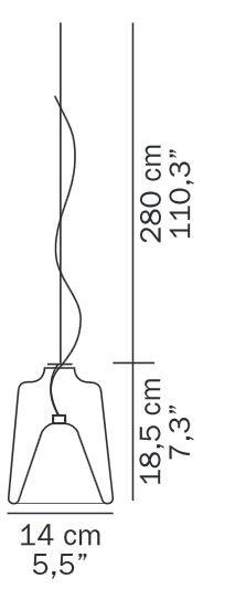 Oluce Lanternina 471 Grafik