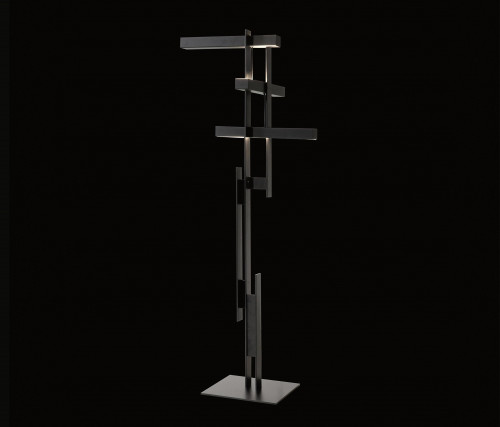 Oluce Las 376 schwarz/grau