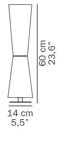 Oluce Lu-Lu 211 Grafik