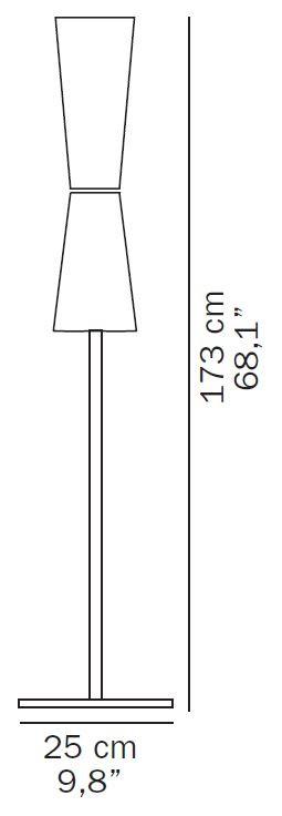Oluce Lu-Lu 311 Grafik