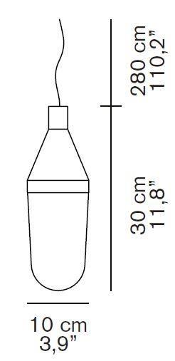 Oluce Niwa 1180 Grafik