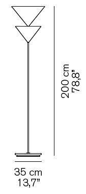 Oluce Pascal 345 Grafik