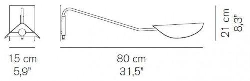 Oluce Plume 158 Grafik