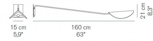 Oluce Plume 159 Grafik