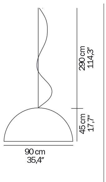 Oluce Sonora 490 BI Grafik