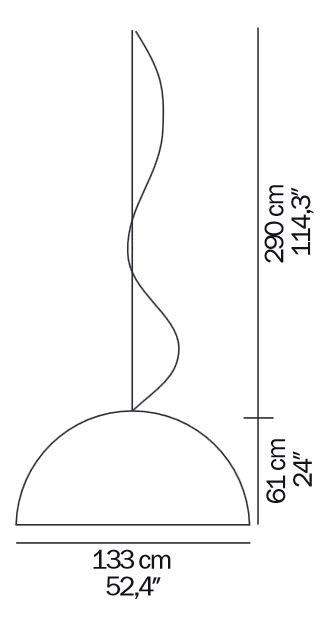 Oluce Sonora 493 BI Grafik