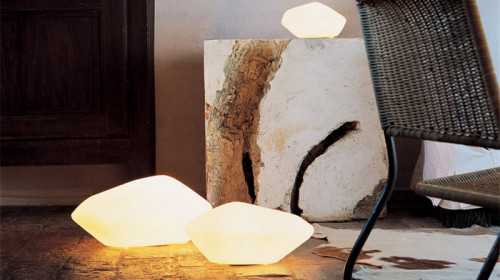 Oluce Stone of Glass 204