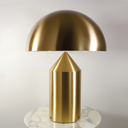 Oluce Atollo 233 Oro gold