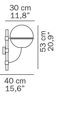 Oluce Lyndon 160M Grafik