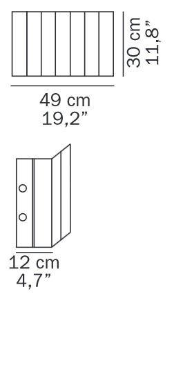 Oluce Pin Stripe 119 Ersatzteil