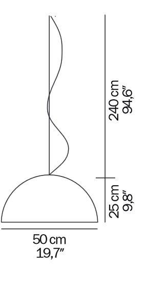 Oluce Sonora 411 Grafik