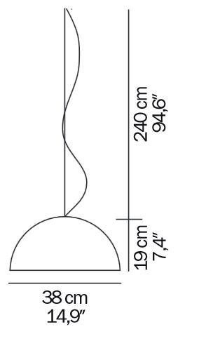 Oluce Sonora 438 Grafik