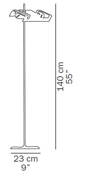 Oluce Spider 3319 Grafik