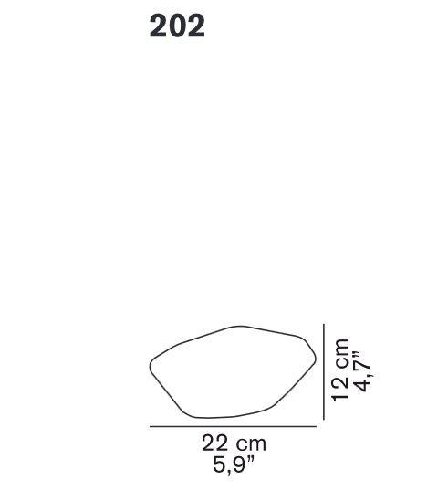Oluce Stone 202 Ersatzteil