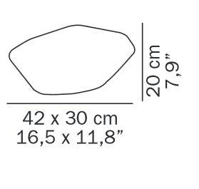Oluce Stones 208 Grafik
