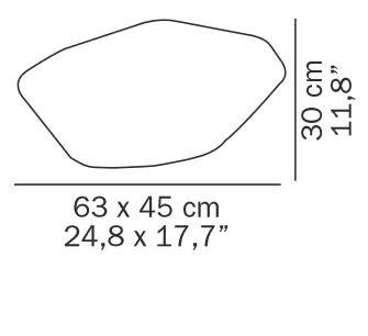 Oluce Stones 215 Grafik