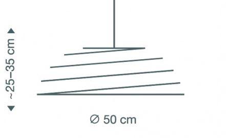 Secto Design Aspiro 8000 Birkenholz Natur Grafik