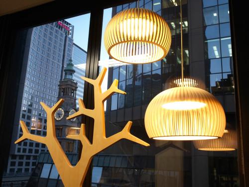 Secto Design Atto 5000 Birkenholz Natur