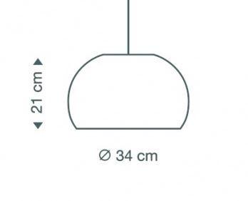 Secto Design Atto 5000 Birkenholz Natur Grafik